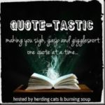 Quote-Tastic Monday #4 ~ Dark Wolf