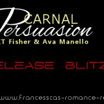Release Day Blitz: Carnal Persuasion (Severed MC #4) by K.T. Fisher & Ava Manello
