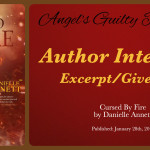 Author Interview: Danielle Annett (Cursed By Fire Tour) ~ Excerpt/Giveaway
