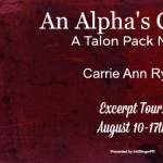 Excerpt Tour: An Alpha's Choice (Talon Pack #2) by Carrie Ann Ryan ~ Giveaway