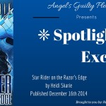 Star Rider on the Razor's Edge by Heidi Skarie {Tour} ~ Excerpt