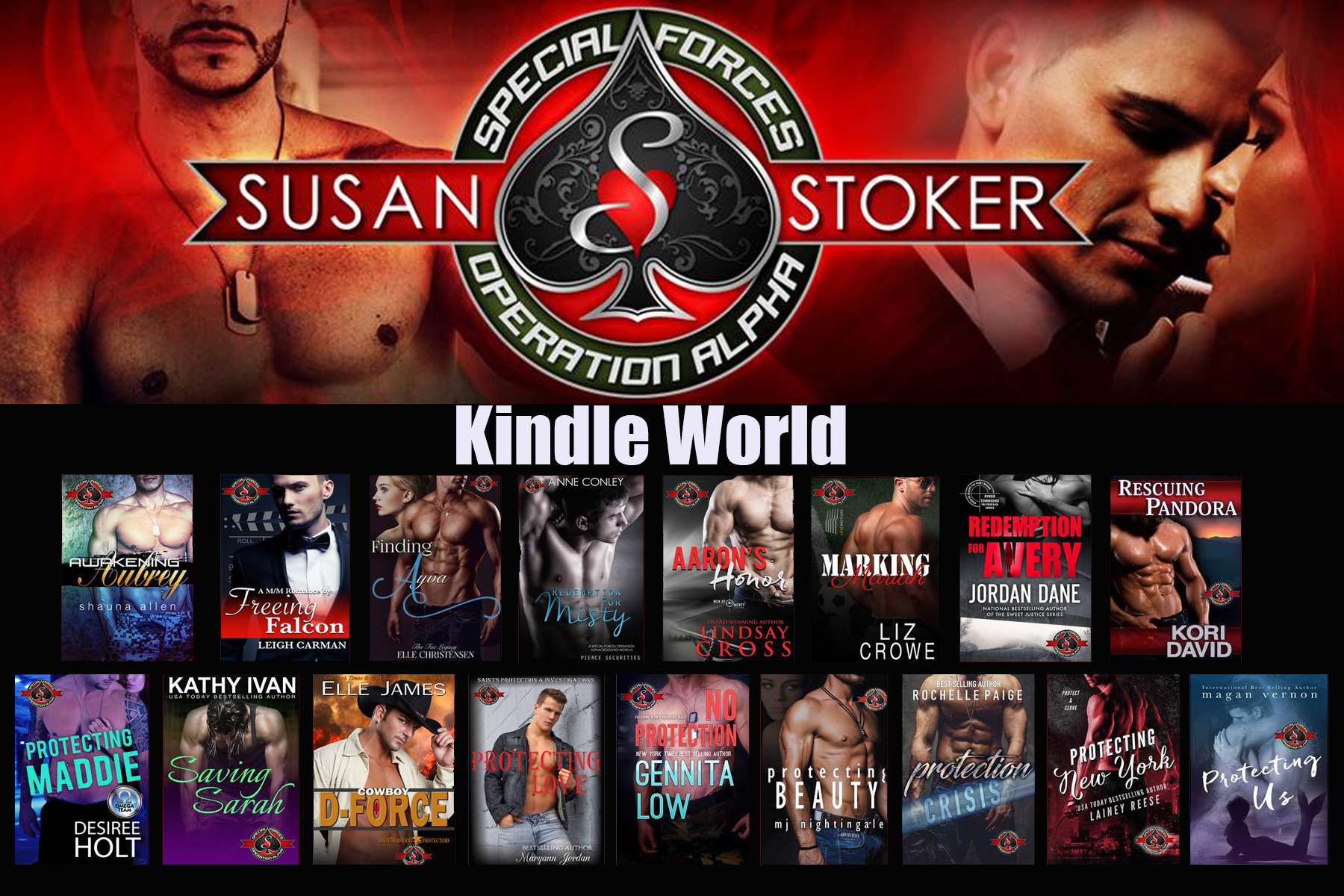 Susan Stoker - Special Forces: Operation Alpha Kindle World Announcement