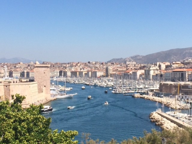 Port View - Marseille France