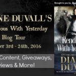 Rendezvous With Yesterday (The Gifted Ones #2) by Dianne Duvall {Tour} ~ Teasers/Giveaway
