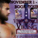 Vengeance of a Viking (The MacLomain Series: Viking Ancestors' Kin #2) by Sky Purington {Tour} ~ Excerpt/Giveaway