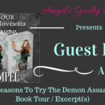 Gest Post: Ann Gimpel {Demon Assassins Series Tour} ~ Excerpt