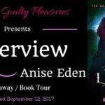Interview: Anise Eden (All the Light There Is) ~ Giveaway