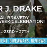It's Release Day! Total Bravery (True Heroes) by Piper J. Drake ~ Giveaway